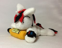 Blackjack beanie plushie by Bewareofkitty