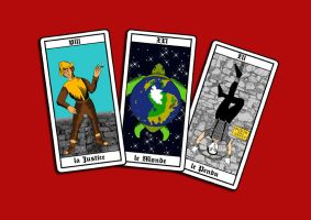 Discworld Tarot by funkydpression