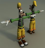 Kingdom Hearts WIP - Goofy by CC-5052