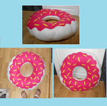 READY TO SHIP: handmade donut pillow by MiniSweetx