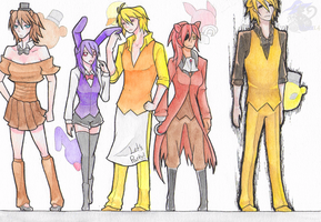 FNAF Genderbend Design - Other Side by NightWitch14