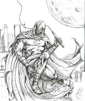 MOON KNIGHT - FRENCHY WHERE ARE YOU by Hey-Abbott