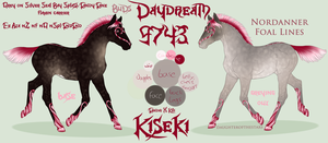 9743 BuD's Daydream - foal design by GuardianOfJay