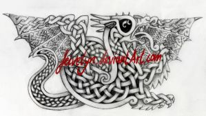 Celtic Dragon I by Feivelyn