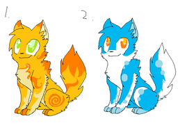 Cat Adoptables by StrikeTheStaraptor