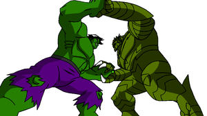 HULK VS ABOMINATION by steeven7620