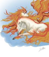 Rapidash by Sparkly-Monster