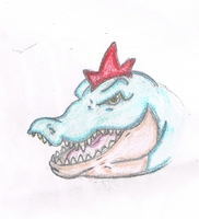 feraligator in color by BaconTree92