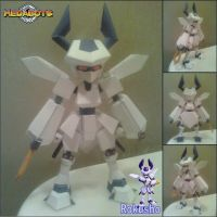 Rokusho Papercraft Finished by rubenimus21