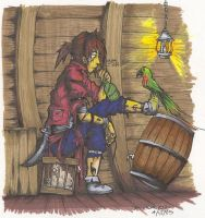 Dante the Pirate by JACKIEthePIRATE