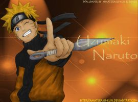 naruto kunai wallpaper by Amaterasu-kun