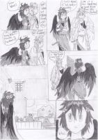 Black Feather Angel - SSBB Doujinshi PAGE 5 by MicoNutziri