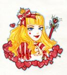 Queen of Hearts by djavan-a-vich