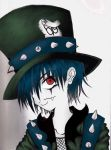 The Mad Hatter Colored by Twisted-Alice