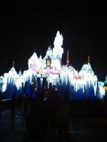 Christmas time castle by Midnight-Vanguard