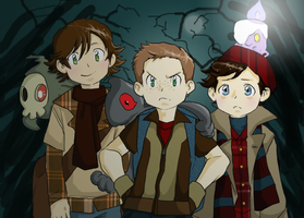 SPN-Pokemon coloured by TerryRose