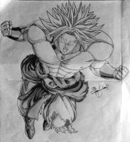 Broly - the legendary super saiyan by 1The-God-Of-Art