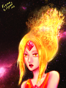 Flame Princess by Saiyond