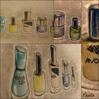 my nail polish collection by paula-the-cat