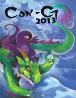 Con-G 2013 Cover Contest Entry With Text by shinigami714