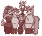 The Bandicoots by DangerMask