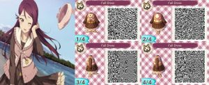 Animal Crossing: Fall Dress QR Code- Commission by ACNL-QR-CODEZ