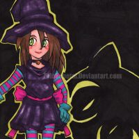 Hazel the Widdle Witch by ProfessionalN00b