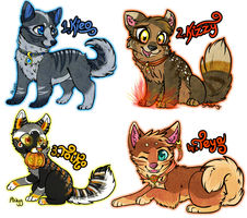 Cute adoptables *CLOSED* by Sziani