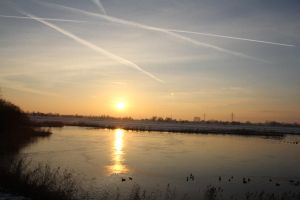 12-12-08 The Sunset 1 by Herdervriend