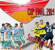 Cup Final 2014 Man City v Safc by Safcedit