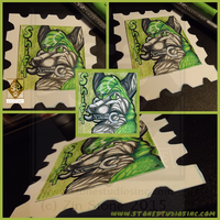 Shift Stamp Badge commish by ZinStone