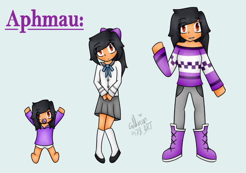 young to old   Aphmau MinecraftDiaries  by Catherin478