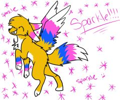 Sparkle heres a gift fo my 400th watcher by iW-O-L-F