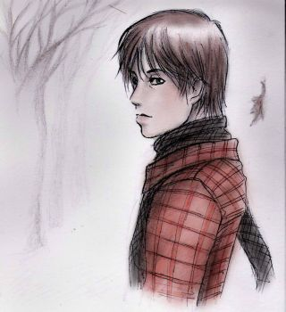In the snow by Moonlight-hero