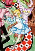 Alice in the Wonderland by SNathy