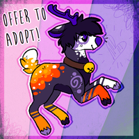 Offer to Adopt deer! -CLOSED- by Michibu