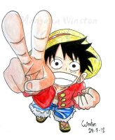 Monkey. D. Luffy by MangakaWinston77