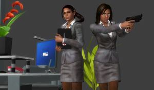 Ingrid Hunnigan Very Hot Agent (Re-Updated Again) by bstylez