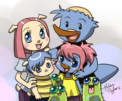 Norm and Bridget family pic done by M. DeJesus by dth1971