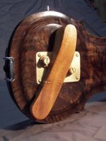 Mahogany Shoulder Rest by chadparker42