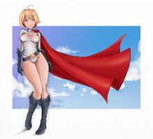 Powergirl Trinquette by LupusCruoris