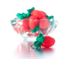 Very berry keyring by foxymitts