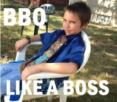 BBQ LIKE A BOSS by tastybedsore