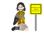 Naoe Kanno is chained up for our protection by SuperTailsHero
