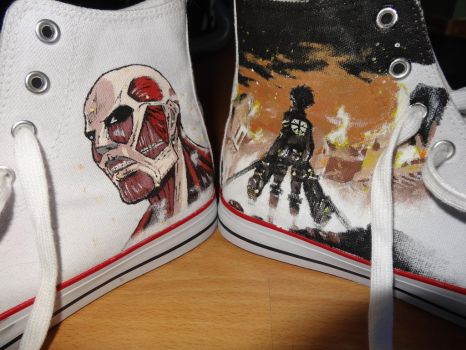 Snk Shoes - Both by OutlawNuukii