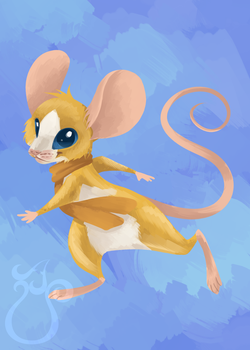 Goldmouse by LinksEyebrows