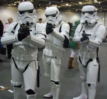Stormtroopers by lunamaxwell