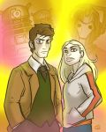Dr. Who and Rose by grantgoboom