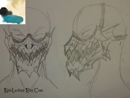 Crystal Beast Original Concept and Color Request by Epic-Leather