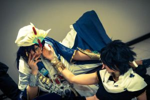 The labyrinth of Magic - Judal X Sinbad by Hime-sOph